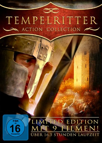 Tempelritter - Action Collection [3 DVDs] [Limited Collector's Edition]