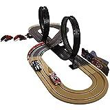 Kinder Autorennbahn Eco Rennbahn Racetrack 632cm lang mit 2...
