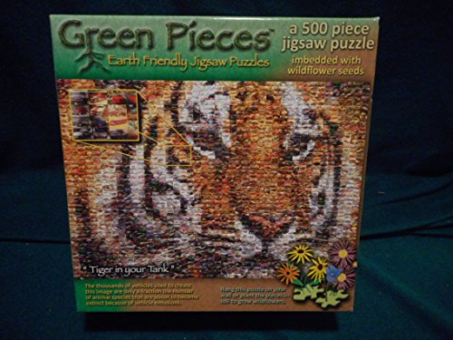 TDC Games Green Pieces - Crude Awakening - jigsaw puzzle