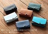 小さい財布 abrAsus(アブラサス)キャメル