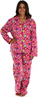PajamaMania Women's Printed Flannel Pajamas
