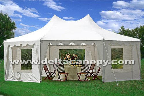 22'x16' Octagonal Wedding Party Gazebo Tent Canopy