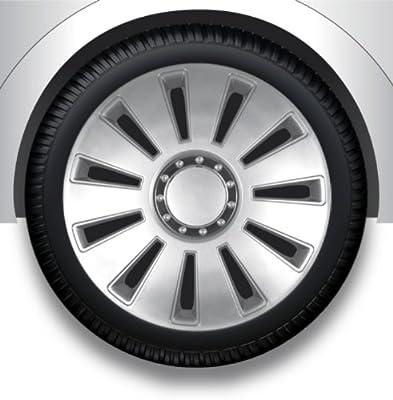 Radkappen/Radzierblenden 17 Zoll SILVERSTONE PRO silver von octimex auf Reifen Onlineshop