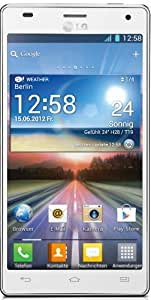 LG P880 Optimus 4X HD Smartphone (11,9 cm (4,7 Zoll) Touchscreen, 8 Megapixel Kamera, 1,5GHz, NFC, WiFi, Android 4.0) weiß