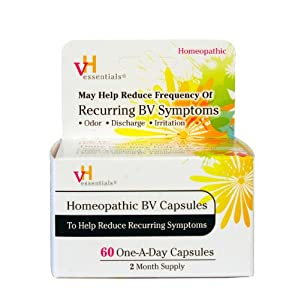 VH Essentials BV Homeopathic Treatment Capsules, 60 Count