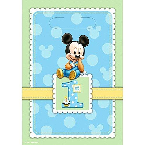 Mickey 1st Birthday Loot Bags