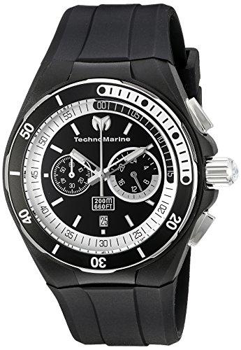 technomarine-mens-quartz-watch-with-black-dial-chronograph-display-and-black-silicone-strap-tm-11515
