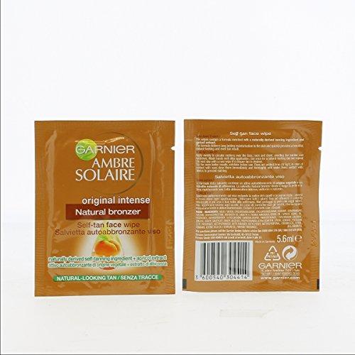 AMBRE SOLAIRE Autoabbronzate Salviette Natural 5,6 Creme per mani e corpo