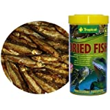 Dried Fishes - 100% natural food for Reptiles, Turtles and Large Aquarium Fishes - from Tropical - 100ml