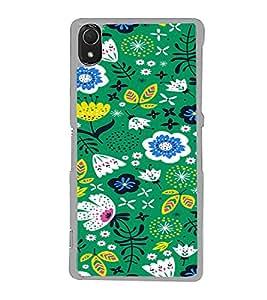 ifasho Designer Phone Back Case Cover Sony Xperia Z3 :: Sony Xperia Z3 Dual D6603 :: Sony Xperia Z3 D6633 ( Lady leg Nail Polish Beautiful )
