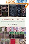 Aboriginal Title: The Modern Jurispru...