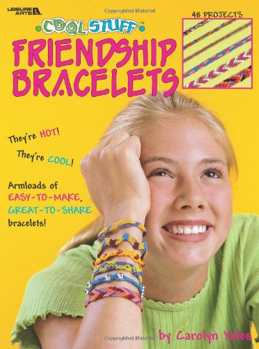 Cool Stuff Friendship Bracelets (Leisure Arts #1871) - 1