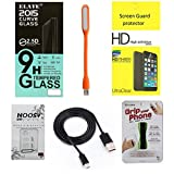 Elate Tempered Glass For Motorola Moto G2 2nd Gen. With Mega Combo Pack