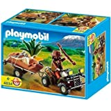 Playmobil 4834 Ranger with Quad Bike and Trailer