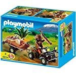 Playmobil Ranger Quad with Bike and Trailer