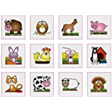 24 CUTE ANIMAL TATTOOS GREAT FOR YOUNGER KIDS GREAT PARTY BAG TOYS