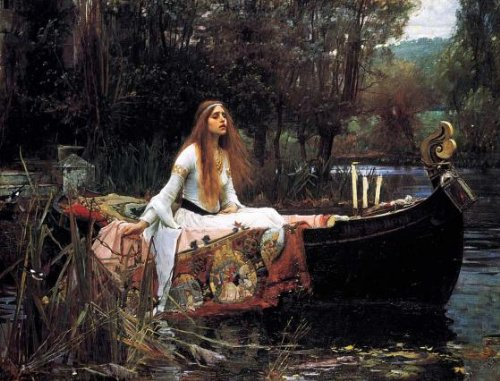 The Lady of Shalott 250 Piece Wooden Jigsaw Puzzle