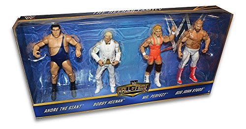 WWE Hall of Fame Exclusive Set / Heenan Family / Andre The Giant, Bobby, Mr Perfect, Big John Studd by Mattel