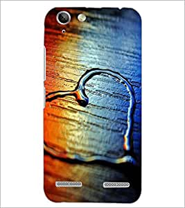 PrintDhaba Heart D-2069 Back Case Cover for LENOVO VIBE K5 (Multi-Coloured)