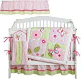 Kids Line Bella 6 Piece Crib Bedding Set