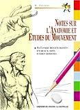 echange, troc G. Civardi - Notes d'anatomie artistique