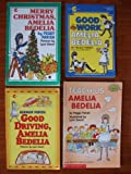 img - for Amelia Bedelia: Set of 4 Books (Merry Christmas, Amelia Bedelia ~ Teach Us, Amelia Bedelia ~ Good Driving, Amelia Bedelia ~ Good Work, Amelia Bedelia) book / textbook / text book