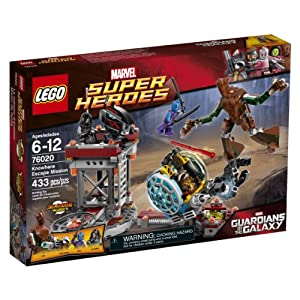 LEGO Superheroes 76020 Knowhere Escape Mission Building Set
