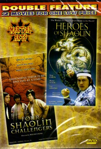 Heroes of Shaolin+Four Shaolin Challengers[Slim Case]
