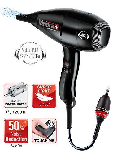 Valera Swiss Reserved 6500 Light Ionic Dryer, Black