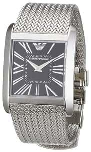 Emporio Armani Women's AR2013 Slim Stainless Steel Mesh Bracelet Watch