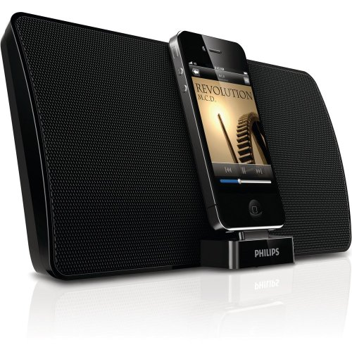 philips bluetooth bundle ipod iphone 4 4s 3g s speaker. Black Bedroom Furniture Sets. Home Design Ideas