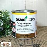 オスモ&エーデル オスモカラー ウッドワックス チーク 0.375L (3166)
