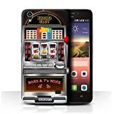STUFF4 Phone Case Cover for Huawei Honor 4 Play Machine Design Slot Machine Collection