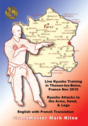 Kyusho (Pressure Point) Attacks to the Arms, Head, & Legs