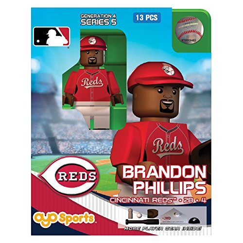 Brandon Phillips MLB Cincinnati Reds Oyo G4S5 Minifigure - 1