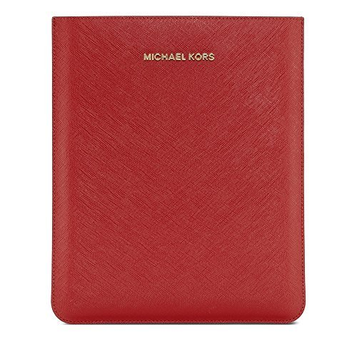 MICHAEL Michael Kors Sleeve for iPad, Red Saffiano (Ipad 2 Sleeve compare prices)