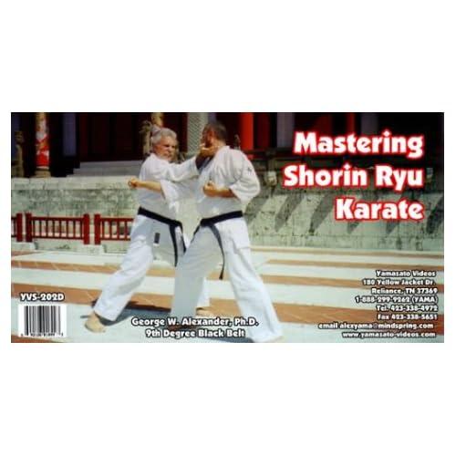 اسطوانة Mastering Shorin Karate تعلم