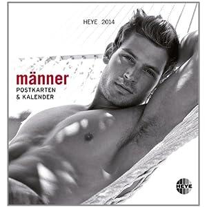 Männer 2014. Postkartenkalender