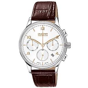 Dugena 7000242 - Reloj de pulsera hombre, piel, color marrón