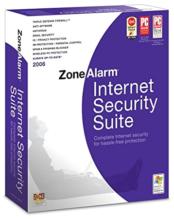 ZoneAlarm Internet Security Suite 2006
