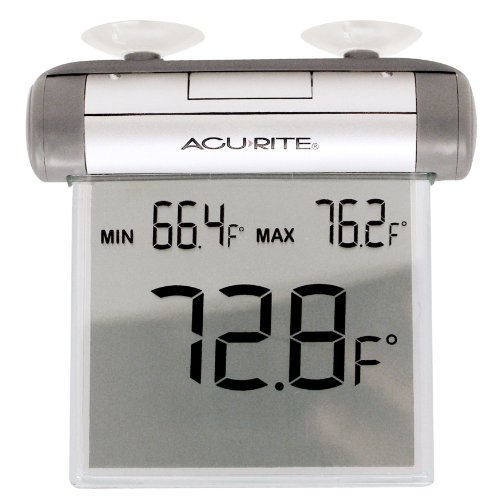AcuRite 00603A1 Digital Window Thermometer (Acurite Digital Thermometer compare prices)