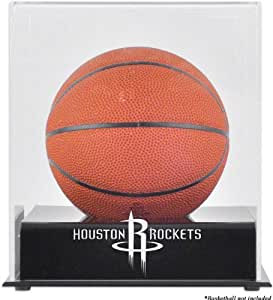 Houston Rockets Mini Basketball Display Case