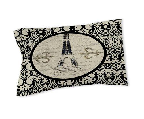 Thumbprintz Pillow Sham, Standard, Paris Damask Eiffel Tower front-829324