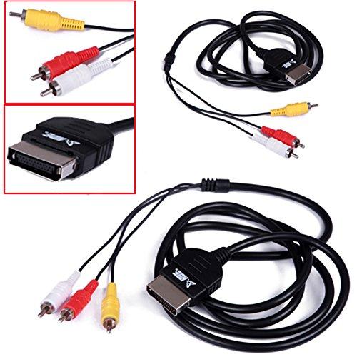 HDE Original Xbox Composite RCA Cable Adapter Audio Video Cord for Microsoft Xbox Original 1st Gen Console to TV (Xbox Av Cord compare prices)
