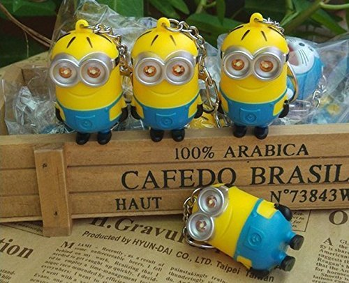 4pcslot-Minions-Toys-Cartoon-Movie-Despicable-Me-2-3D-Mini-Minion-Keychains-PVC-Action-Figure-Toys