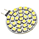 G4 2W 30x3528SMD 120-150LM 6000-6500K Natural White Light LED Spot Bulb (12V)