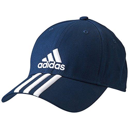 Adidas Perf Cap 3S Co Cappellino Unisex, Blu/Bianco (Aj9221-Maruni/Bianco/Bianco), Osfc
