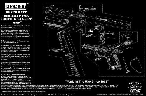 FIXMat Displays S amp W M amp P diagram 11 Prime X 17 Prime Handgun