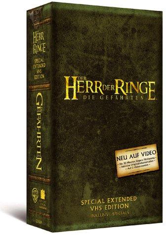 Der Herr der Ringe - Die Gefährten [VHS]