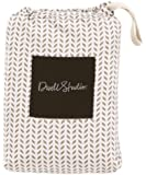 DwellStudio Fitted Crib Sheet, Chevron (Discontinued by Manufacturer)